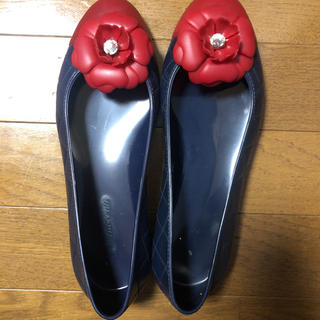 innocent イノチェンテ のラバーパンプス(レインブーツ/長靴)