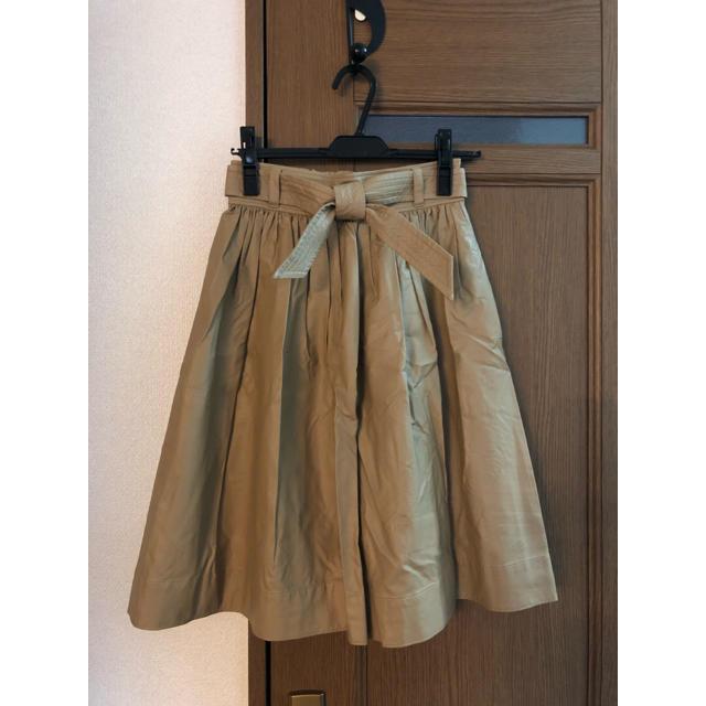 Stola.(ストラ)のフェイクレザースカート レディースのスカート(ひざ丈スカート)の商品写真