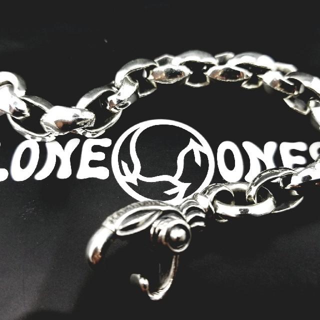 LONE ONES(ロンワンズ)の美品 レナードカムホート シルクリンクブレスレット ロンワンズ メンズのアクセサリー(ブレスレット)の商品写真
