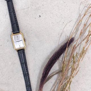 オメガ(OMEGA)の【OH済/仕上済】オメガ デビル カットガラス ゴールド レディース 腕時計(腕時計)