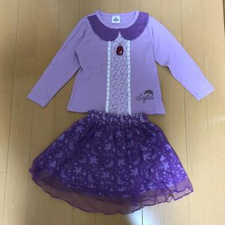 しまむら - ソフィアなりきりTシャツ&スカート