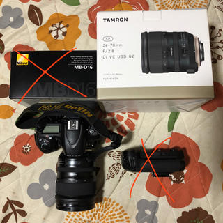 Nikon - Nikon D750 TAMRON 24-70mm f2.8 セット