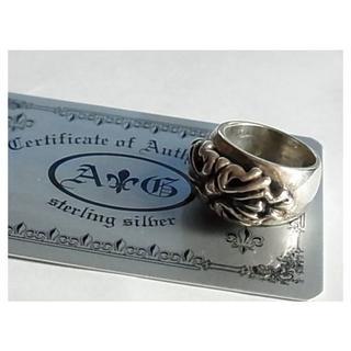 エーアンドジー(A&G)のエーアンドジーA&Gリング指輪19号SVシルバー925ギャランティ(リング(指輪))
