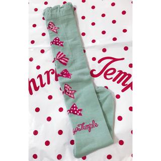 シャーリーテンプル(Shirley Temple)の新品シャーリーテンプル ニーハイソックス(靴下/タイツ)