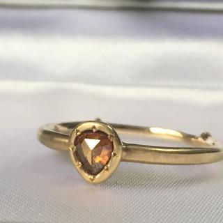 アッシュペーフランス(H.P.FRANCE)のtatsuo nagahata ブラウンダイヤ リング  指輪 ダイヤモンド(リング(指輪))