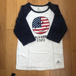ビームス(BEAMS)のお値下げ。スマイル Tシャツ 140 グリーンレーベルリラクシング(Tシャツ/カットソー)