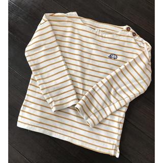 サマンサモスモス(SM2)のSamansa Mos2 ボーダーカットソー 120(Tシャツ/カットソー)
