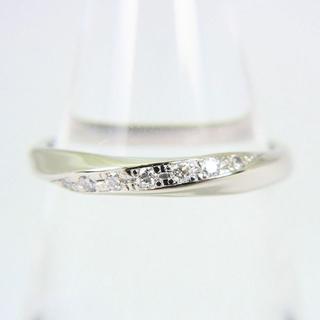 ヴァンドームアオヤマ(Vendome Aoyama)のヴァンドーム PT950 ダイヤモンド リング 8.5号 [f67-2](リング(指輪))