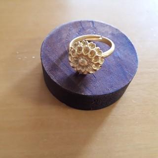 フェリシモ(FELISSIMO)の値下げ フェリシモ 植物標本リング ガラスドーム付き 新品(リング(指輪))