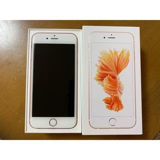 iPhone - iPhone 6s Rose Gold 64 GB SIMフリー docomo