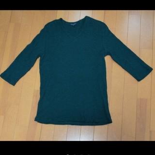 アーバンリサーチ(URBAN RESEARCH)のURBAN RESEARCH 七分袖 VネックTシャツ カットソー  Mサイズ (Tシャツ/カットソー(七分/長袖))