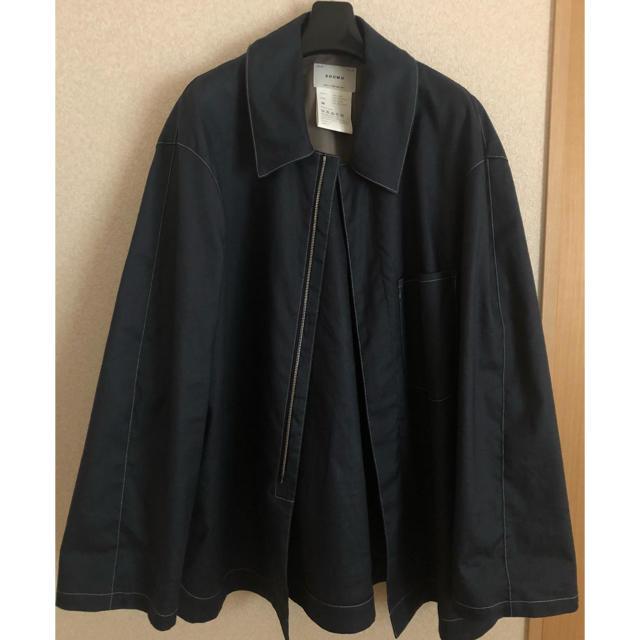 COMOLI(コモリ)のSOUMO Oval All Jacket (BLUE) メンズのジャケット/アウター(テーラードジャケット)の商品写真