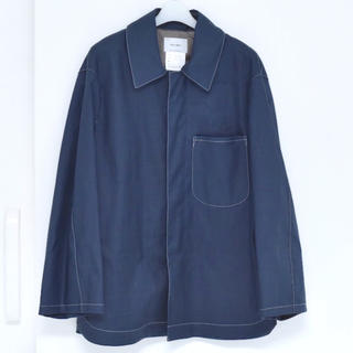 COMOLI - SOUMO Oval All Jacket (BLUE)