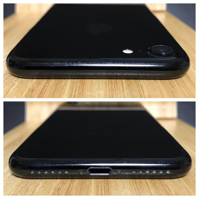 iPhone(アイフォーン)の「SIMフリー/美品」 iPhone7 128GB ジェットブラック 動作良好 スマホ/家電/カメラのスマートフォン/携帯電話(スマートフォン本体)の商品写真