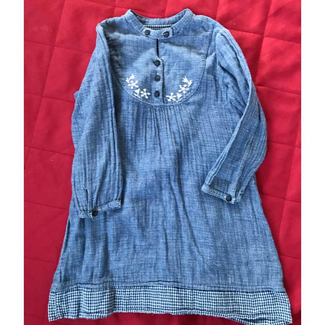 FELISSIMO(フェリシモ)のワンピース 110 キッズ/ベビー/マタニティのキッズ服 女の子用(90cm~)(ワンピース)の商品写真