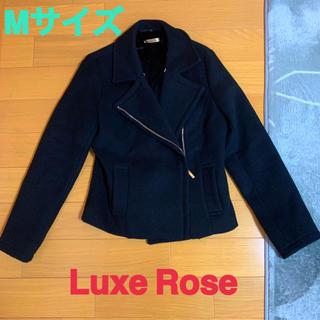 リュクスローズ(Luxe Rose)のLuxe  Rose★ファーコート★コート★Mサイズ★Pコート★ブラック(毛皮/ファーコート)