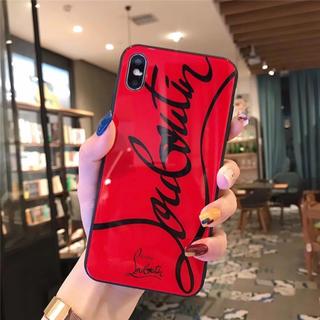 クリスチャンルブタン(Christian Louboutin)のiPhone glass case red(iPhoneケース)