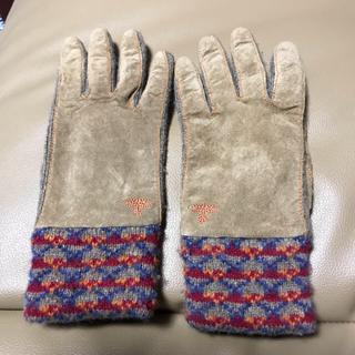 ヴィヴィアンウエストウッド(Vivienne Westwood)のヴィヴィアンウエストウッド 手袋 グローブ スェード(手袋)