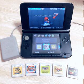 ニンテンドー3DS - 3DS LL本体+充電器、ソフト