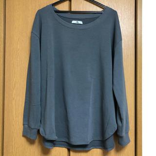 メゾンドリーファー(Maison de Reefur)の【美品】MAISON DE REEFUR クルーネックTシャツ【大人気】(Tシャツ(長袖/七分))
