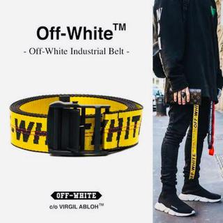 オフホワイト(OFF-WHITE)のoff-white ロゴベルト(ベルト)