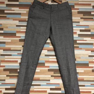 カルバンクライン(Calvin Klein)のサイズ44 CALVINKLEIN trousers グレー(スラックス)