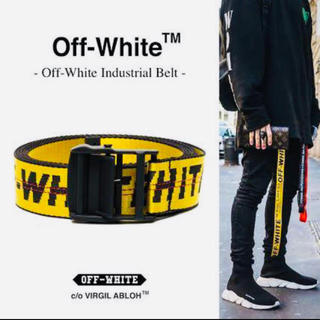 オフホワイト(OFF-WHITE)の☆インスタ映え☆OFF-WHITE INDASTRIAL BELT ロングタイプ(ベルト)