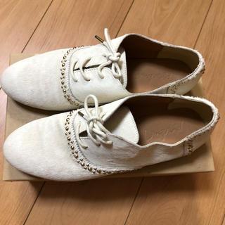 アングリッド(Ungrid)のUngridハラコスタッズレザーローファー(ローファー/革靴)