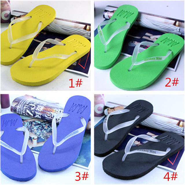 サンダル ビーチ 夜光トング  メンズ レディース 滑り止め  リゾート 海 レディースの靴/シューズ(サンダル)の商品写真