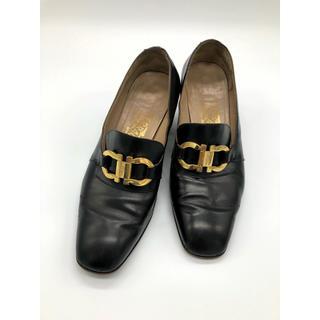 フェラガモ(Ferragamo)の中古品◆フェラガモ◆ローファー◆6(24cm)◆ブラウン(ローファー/革靴)