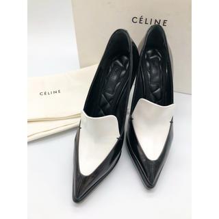 celine - 中古品◆セリーヌ◆パンプス◆36.5(23cm)◆ブラック&ホワイト