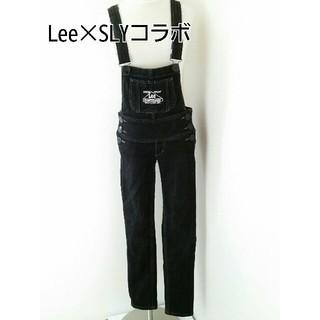 SLY - Lee×SLYコラボ/スキニーデニムサロペット/オーバーオール
