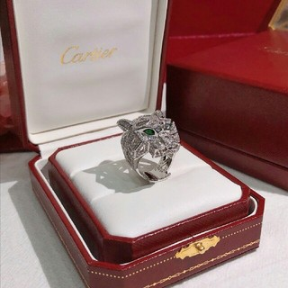 カルティエ(Cartier)の早い者勝ち! カルティエCartier リング 7号 キラキラ 虎(リング(指輪))