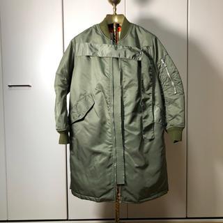 スリーワンフィリップリム(3.1 Phillip Lim)の3.1 フィリップリム ma-1 型 ロング ジャケット 正規品(ミリタリージャケット)