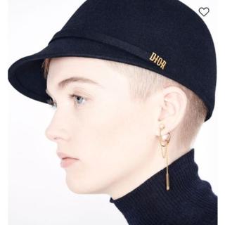 ディオール(Dior)の19AW <DIOR ディオール> ARTYキャップ ロゴ ブラック ネイビー(ハット)
