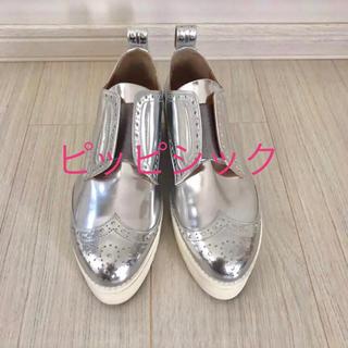 ピッピ(Pippi)の【美品♡】ピッピシック PIPPICHIC プラットフォーム シューズ 厚底(ローファー/革靴)