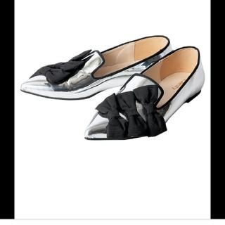 チェスティ シルバー シューズ リボン(ローファー/革靴)