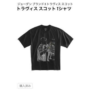 ナイキ(NIKE)のNIKE JORDAN x TRAVIS SCOTT Tシャツ(スニーカー)