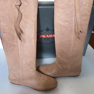 プラダ(PRADA)のプラダ✨ロングブーツ💕新品🍀(ブーツ)