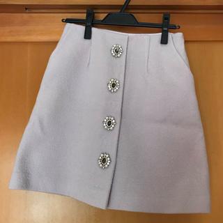 31 Sons de mode - 31 Sons de mode♡ビジュー付き台形スカート