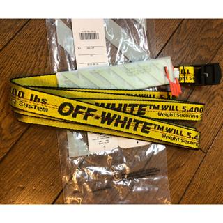 オフホワイト(OFF-WHITE)のOFF-WHITE   CARRYOV MINI INDUSTRIAL BELT(ベルト)