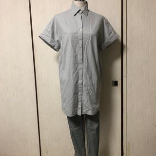 アパートバイローリーズ(apart by lowrys)のシャツ チェックパンツ コーデ(セット/コーデ)