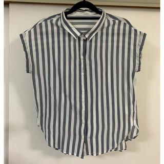 サマンサモスモス(SM2)のシャツ ストライプ まとめ売り割引あり(シャツ/ブラウス(半袖/袖なし))