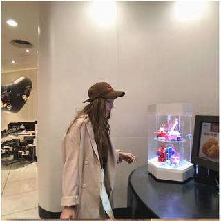 ディーホリック(dholic)のゆったりめ トレンチコート ジャケット 韓国ファッション(テーラードジャケット)