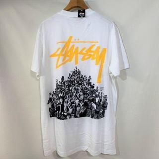 STUSSY - STUSSY Tシャツ 白 ストックロゴ
