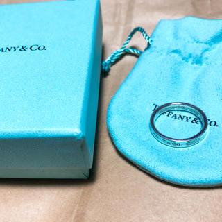 ティファニー(Tiffany & Co.)の希少 美品 Tiffany&Co. ティファニー 1837 ナローリング (リング(指輪))