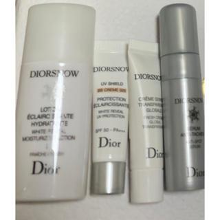 ディオール(Dior)のディオール スノー ホワイトニング ローション UV クリーム 美容液 サンプル(化粧水 / ローション)