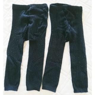 ベルメゾン(ベルメゾン)のベルメゾン レギンスタイツ 85サイズ 二枚セット(靴下/タイツ)