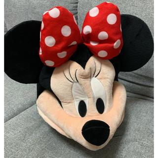 ミニーマウス(ミニーマウス)のディズニーリゾート グッズ ぬいぐるみ 帽子 ミニー 美品(キャラクターグッズ)