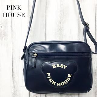 ピンクハウス(PINK HOUSE)の【PINK HOUSE】ショルダーバッグ ネイビー ピンクハウス(ショルダーバッグ)